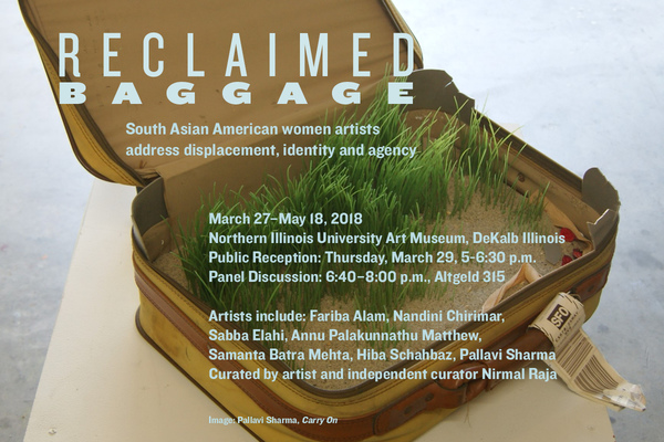 """""""Reclaimed Baggage"""" at Northern Illinois University Art Museum"""
