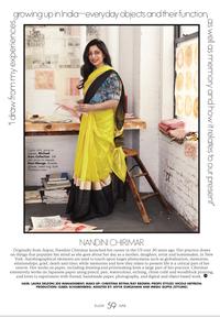 Featured in Elle India Magazine